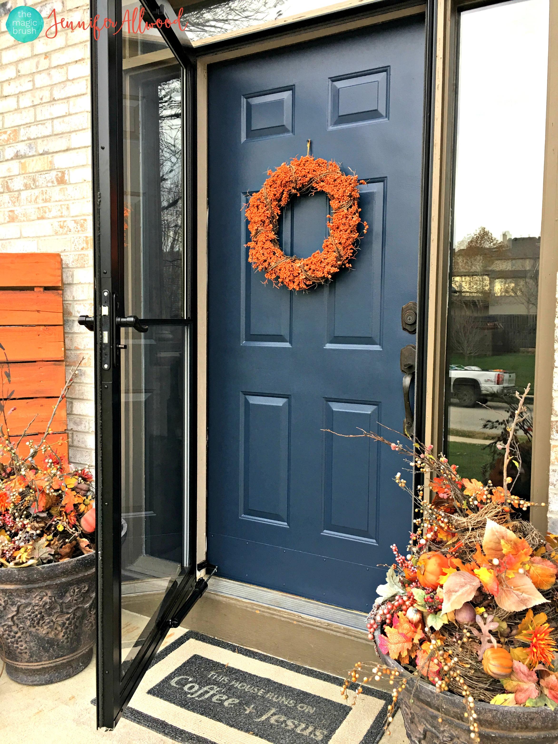 Steps to repaint your front door FAST!