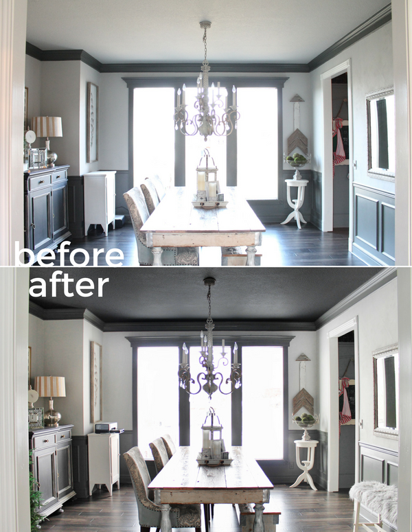 Painted Black Ceiling | Magic Brush