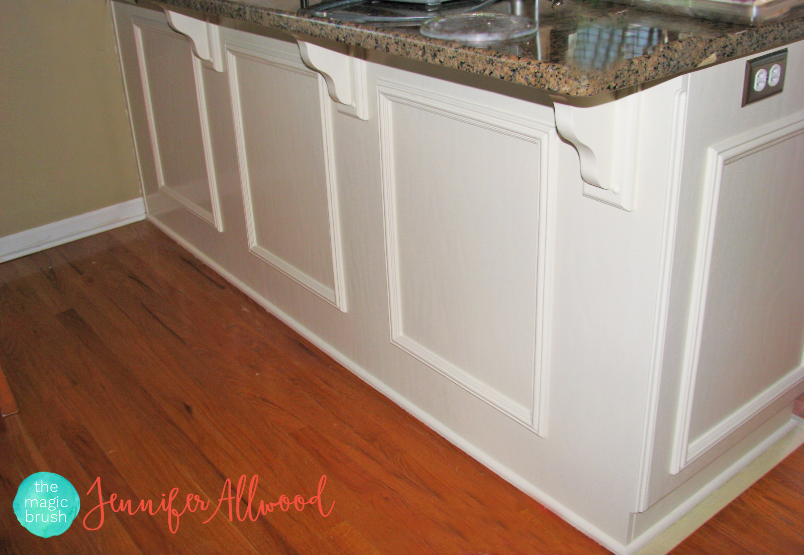 How to add panels to cabinet doors - Jennifer Allwood