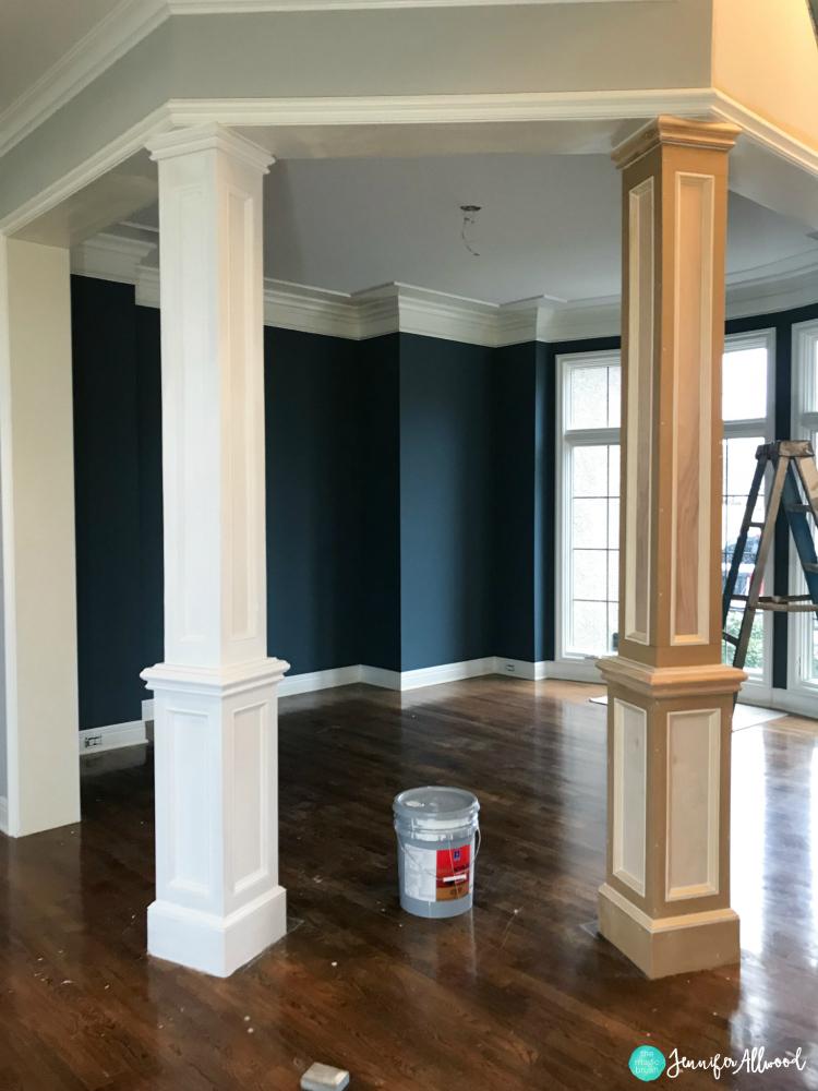 Faux Columns Interior - Jennifer Allwood The Magic Brush