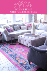 favorite colorful rugs pinterest graphic by jennifer allwood
