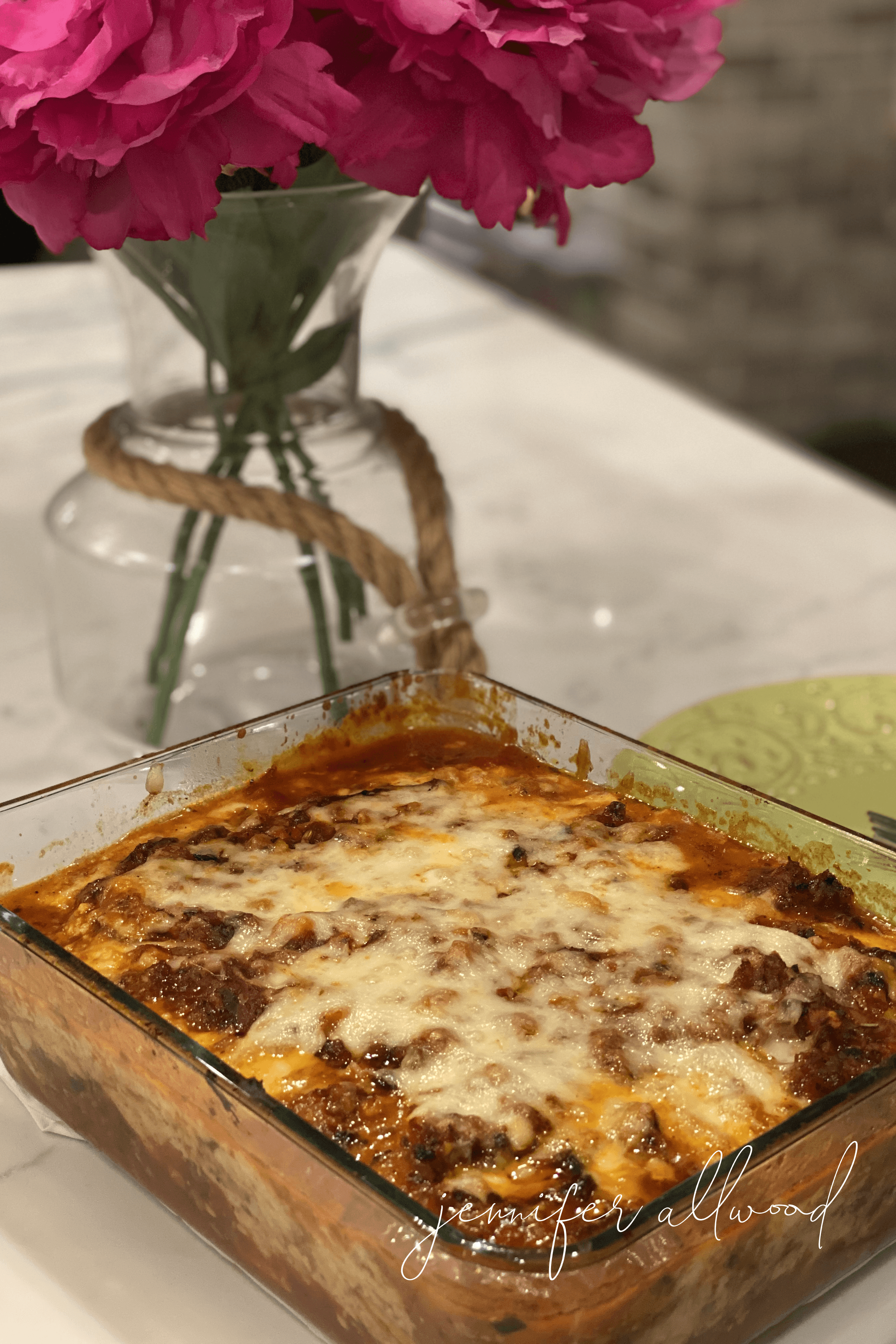 Mr. Magic's Eggplant Lasagna