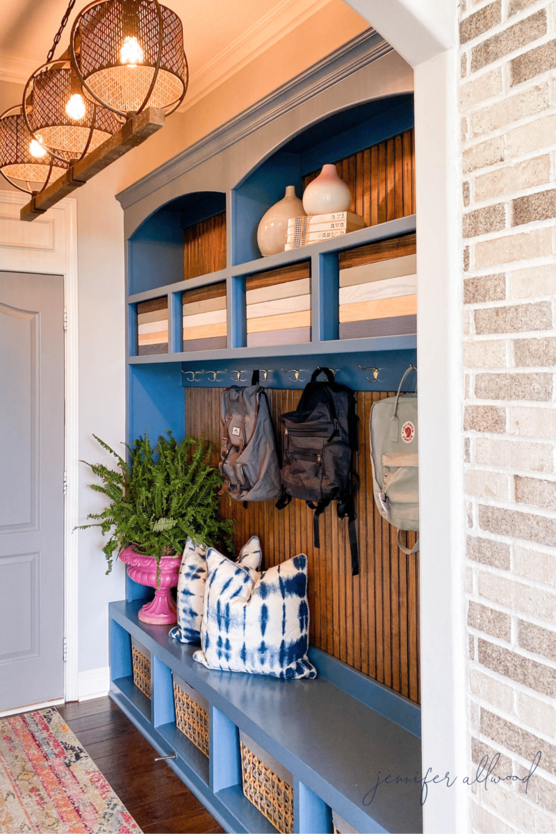 Bright and Light Mudroom